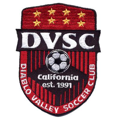 Diablo Valley Soccer Club Patch