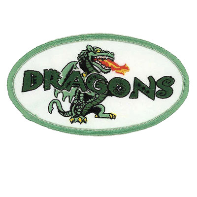 Dragons Soccer Team Patch