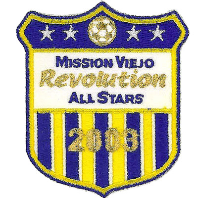 Mission Viejo Revolution All Stars Patch
