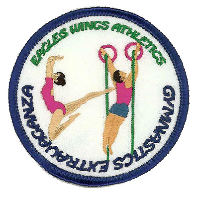 Eagle Wings Athletics Patch
