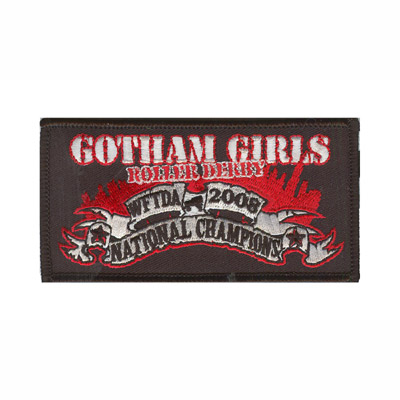 Gotham Girls National Champions Patch