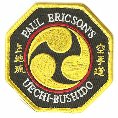 Paul Ericsons Uechi Bushido Patch
