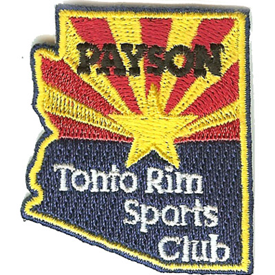 Payson Tonto Rim Sports Club Patch
