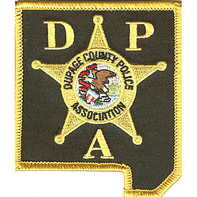 Dupage County Police Association Patch