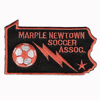 Marple Newtown Soccer Association Patch