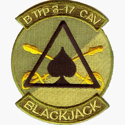 Blackjack B TRP Patch