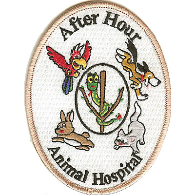 Embroidered Veterinary Patches