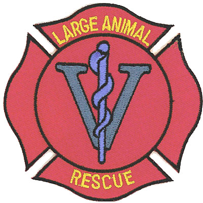Large Animal Rescue Patch