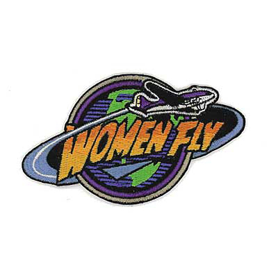 Women Fly Patch