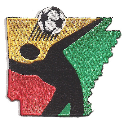 Arkansas Soccer Association Patch