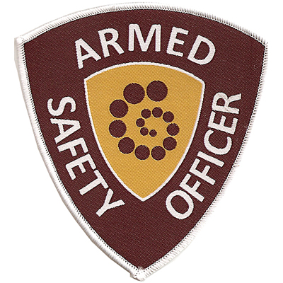 Armed Safety Officer Patch