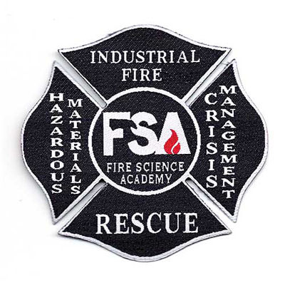 Fire Science Academy Patch