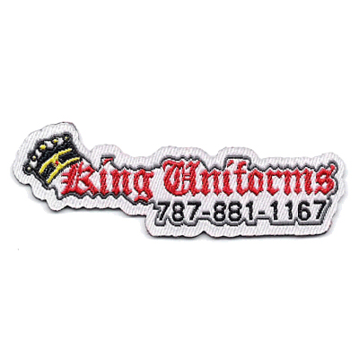 King Uniforms Patch