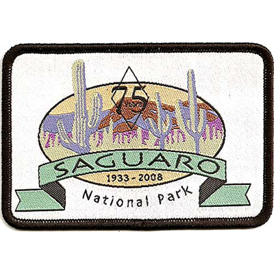 Saguaro National Parks 75th Anniversary Patch