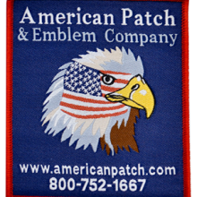 American Patch Woven
