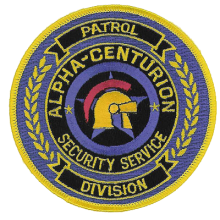 Security Guard Patches - 03