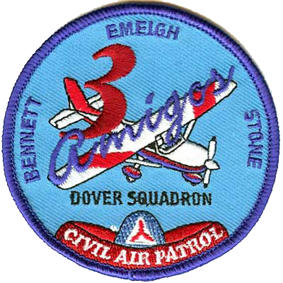 embroidered air patrol patch