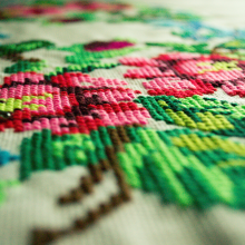 Close Up Embroidery