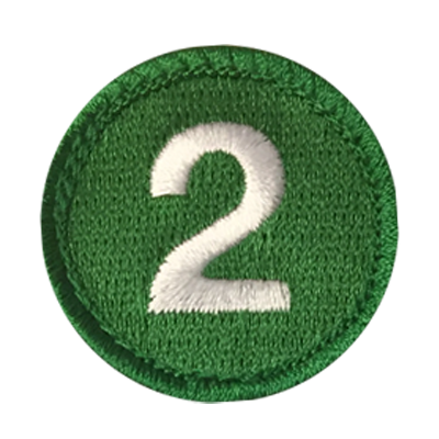 Symbol Merit Badge Sample 4