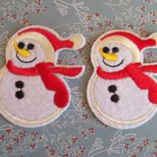 Snowmen Patches