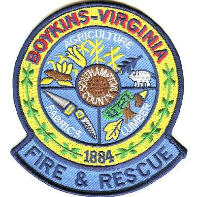 Boykins Virginia Fire Rescue