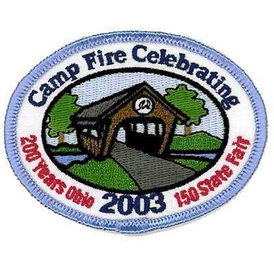 Camp Fire Celebrating