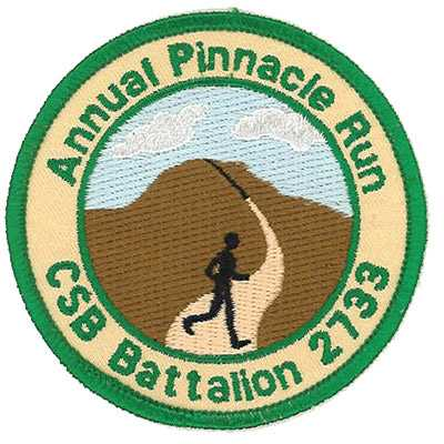 Annual Pinnacle Run CSB Battalion