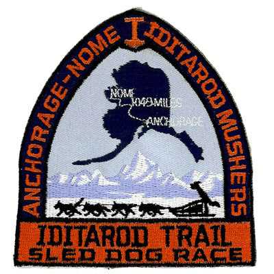 Anchorage Nome Iditarod Mushers