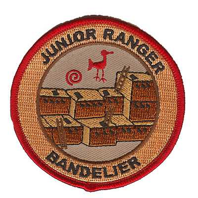 Bandelier Junior Ranger Red