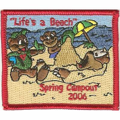 Lifes a Beach Spring Campout