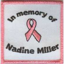Custom Iron On Patches for Memorials
