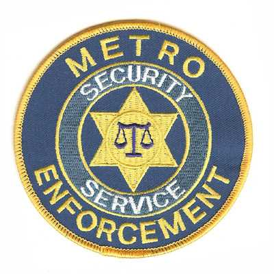 Metro Security Service Enforcement