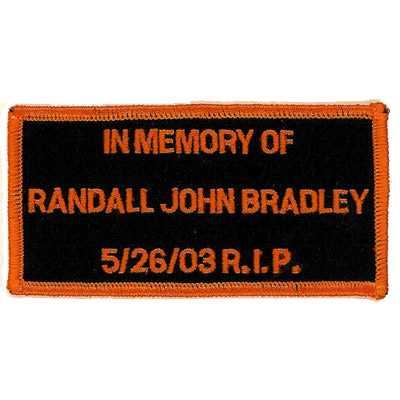 Memorial Randall John Bradley