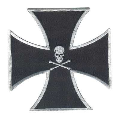 Maltese Cross & Skull
