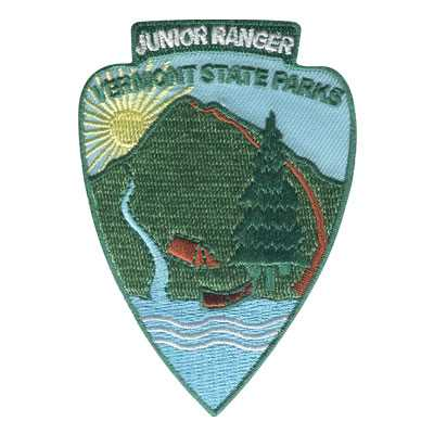 Vermont State Parks Junior Ranger Patch