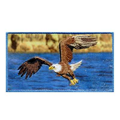 Combination Patch Eagle Fly