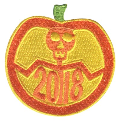 Cool Patches Halloween Theme