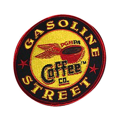 Gasoline Street Coffee CO. Patch