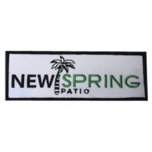 New Spring Patio Patch