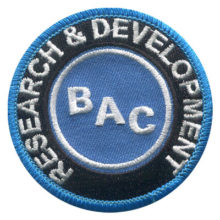 BAC Research and Development Patch