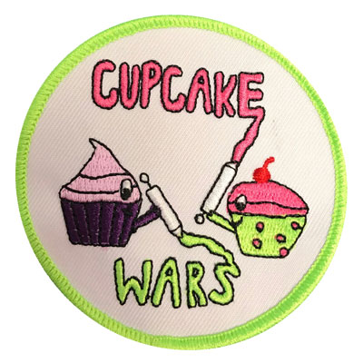 Cupcake Wars Patch
