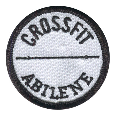 Sample CrossFit Patch 03