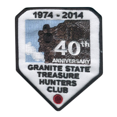 Granite State Treasure Hunters Club Patch