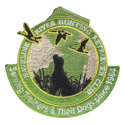 River Hunting Retriever Club Patch