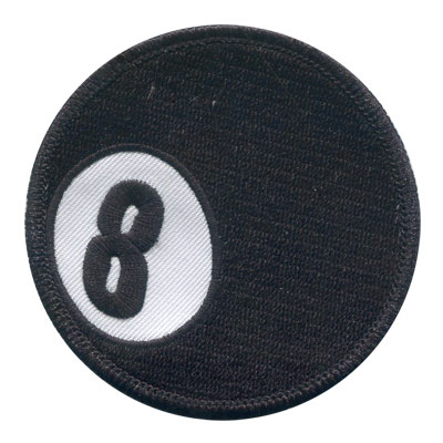 Eight Ball Patch