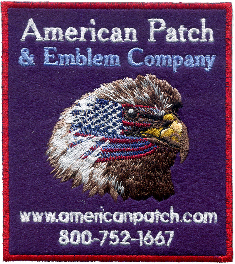 American Felt Patches