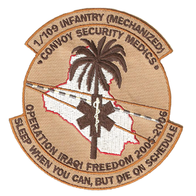 Army 109 Infantry Patch