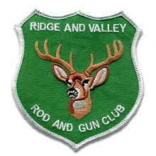 Ridge and Valley Rod and Gun Club Patch