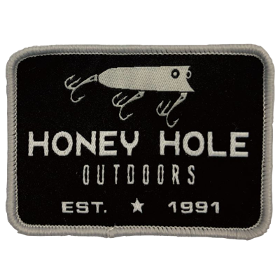 Honey Hole Rectangle Fishing Patch