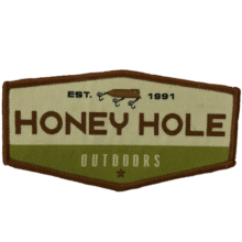 Honey Hole Fishing Patch